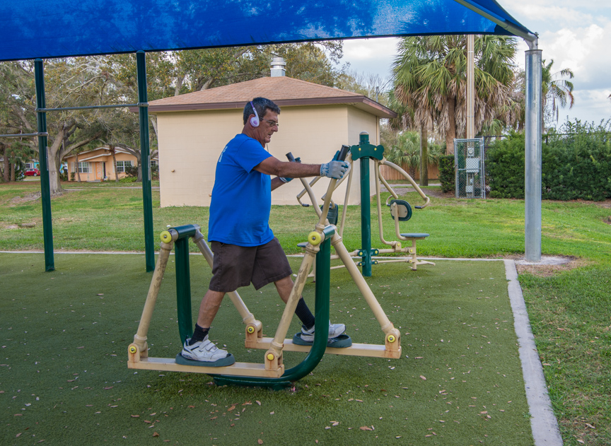 Gladden Park Exercise Zone