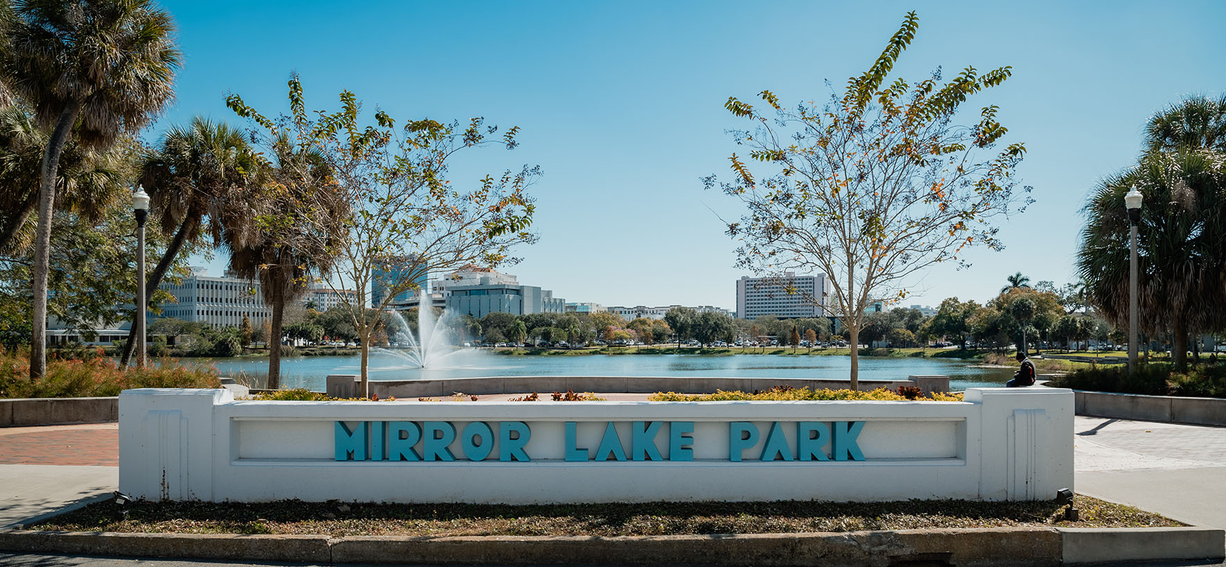 Mirror Lake Fountain