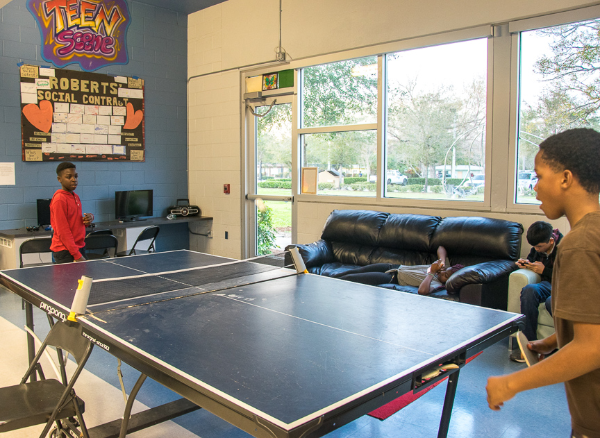 Roberts Recreation Teen Room