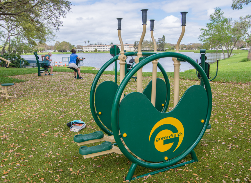 Jorgensen Lake Exercise Equipment
