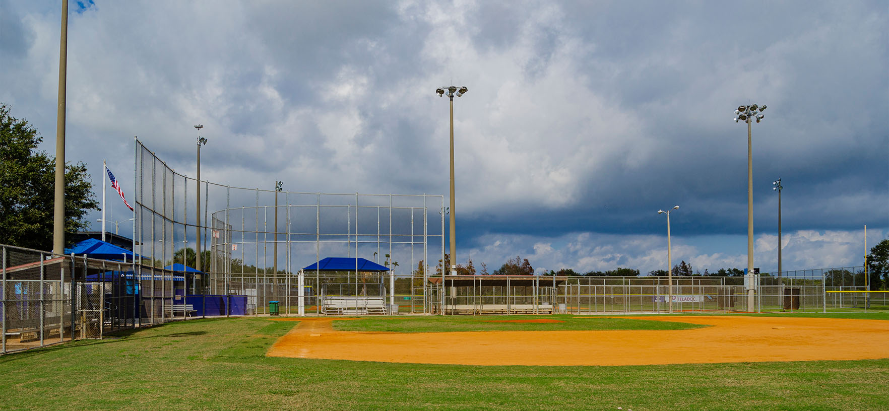 Northeast Mini Park Softball field