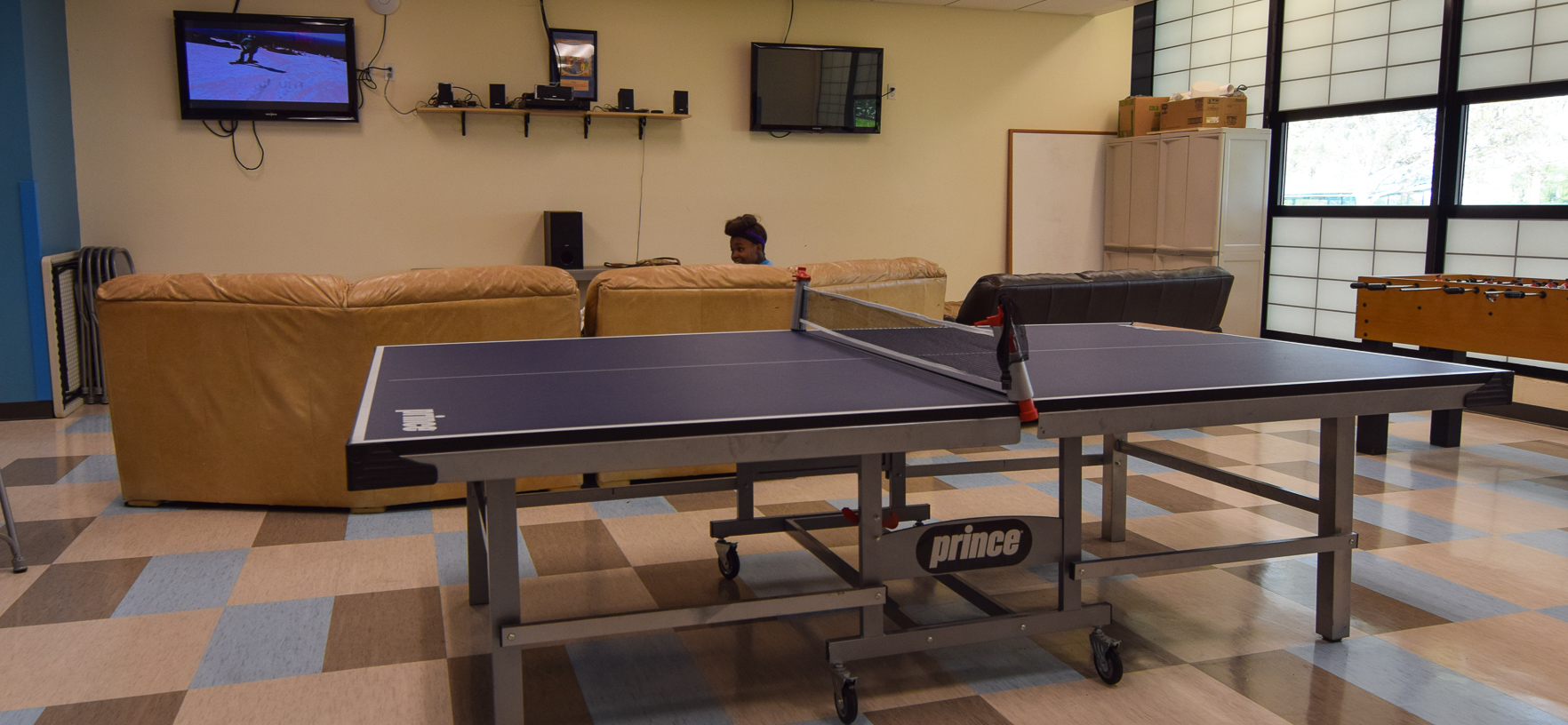 Campbell Park Teen Room with table tennis